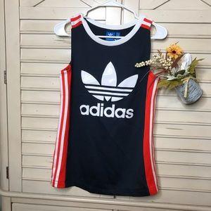 Adidas jersey tank top